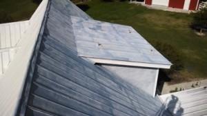 Roof Painting Project Metal Roof Peerless Pressure Washing