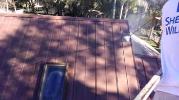... Oxidation Tampa Roof Cleaning